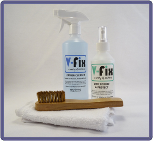 Nubuck Clean & Stain Protect Kit